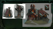 BlizzCon Legion - Stormheim Vrykul housing concept art