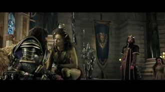Warcraft - King Llane Asks Garona - Own it 9 27 on Blu-ray