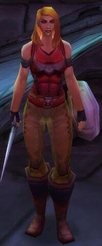Scarlet Bodyguard