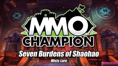 Seven Burdens of Shaohao Mists Lore