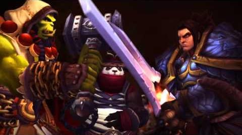 Garrosh's death Alliance version