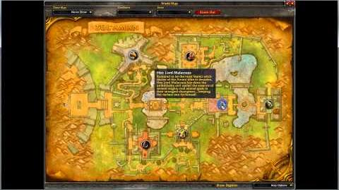 Video how to find the entrance to zul aman world of warcraft