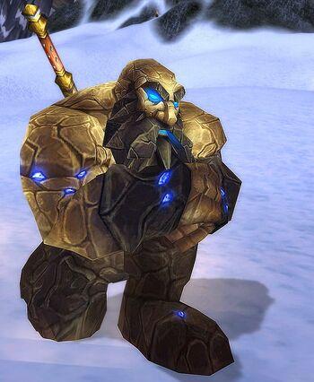 Fallen Earthen Defender