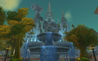 Uther Fountain Statue (Cathedral District)