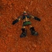Battered Dwarven Skeleton