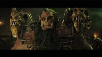 Warcraft - Orcs Discuss Fel At The Campfire - Own it 9 27 on Blu-ray