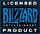 Blizzard licensed product logo
