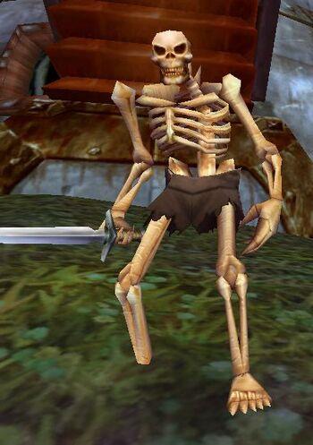 Rattlecage Skeleton