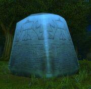 Stone of Remembrance closeup