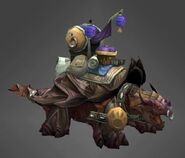 Dragon turtle epic mount purple