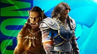 The Cast of WARCRAFT Visit Conival at Comic Con 2015! (Nerdist Special Report)