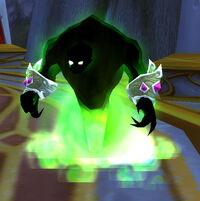 Tainted arcane wraith
