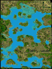 The Broken Isles Map
