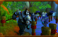 Pandaren monks BlizzCon2011