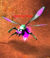 Lightning wasp