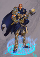 Uther The Lightbringer by pulyx-1-