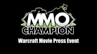Blizzcon 2015 - Warcraft Movie Press Event