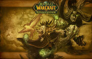 Wrath of the Lich King 3.3 Outland loading screen