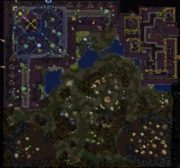 The Ruins of Dalaran Map