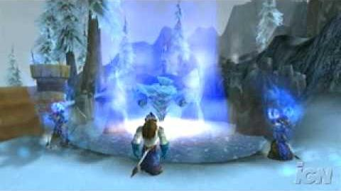 WoW - Wrath of the Lich King Blizzcon Footage 1