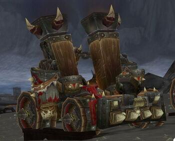 Horde Siege Tank