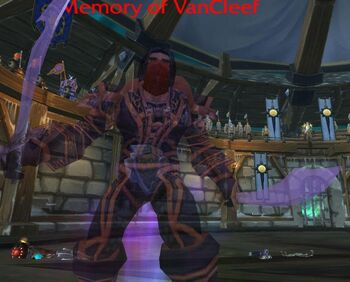 Memory of VanCleef