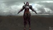 Slyvanas for Legion cinematic armor set modeled3