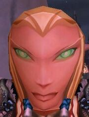 Flimsy Female Blood Elf Mask