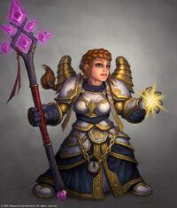 Dwarf priest