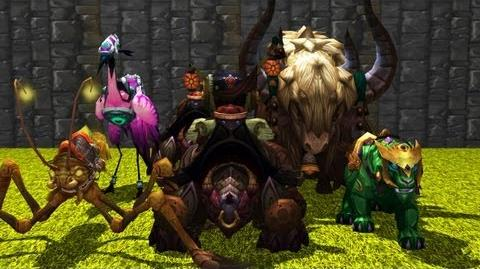 Mists of Pandaria Mounts Part I