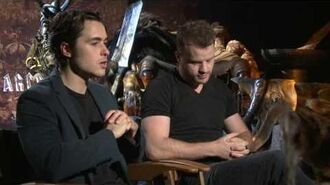 Warcraft Robert Kazinsky & Ben Schnetzer Official Movie Interview