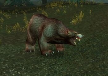 Giant Grizzled Bear