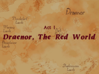 Warcraft II Beyond the Dark Portal - Act I (Draenor, The Red World)