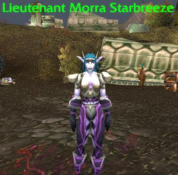 Lieutenant Morra Starbreeze