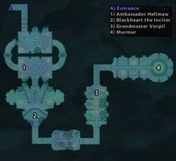 Shadow Labyrinth Map