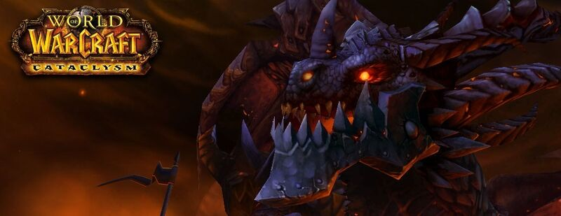Deathwing and Cataclysm Logo