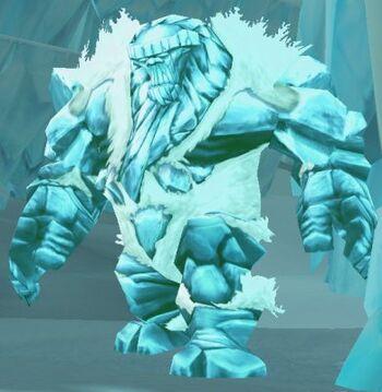 Crystalline Ice Giant