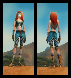 BloodElf Female Flimsy Chain Mail Armor Set