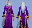 Festive Purple Dress