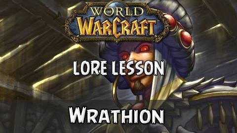 World of Warcraft lore lesson 63 Wrathion-0