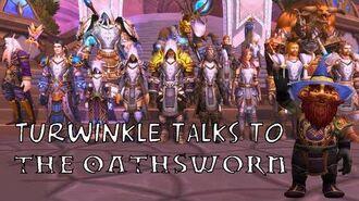 Turwinkle Talks to The Oathsworn