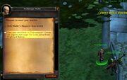 Return to Jaina teleport from Archmage Malin