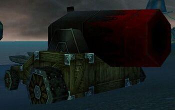 Scarlet Land Cannon