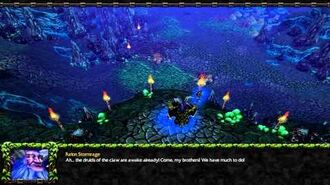 Warcraft 3- ROC – 5. Brothers in Blood (Hard) Night Elf Campaign