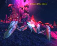 Crimson Shale Spider