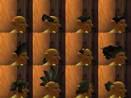 Gnome male hairstyles