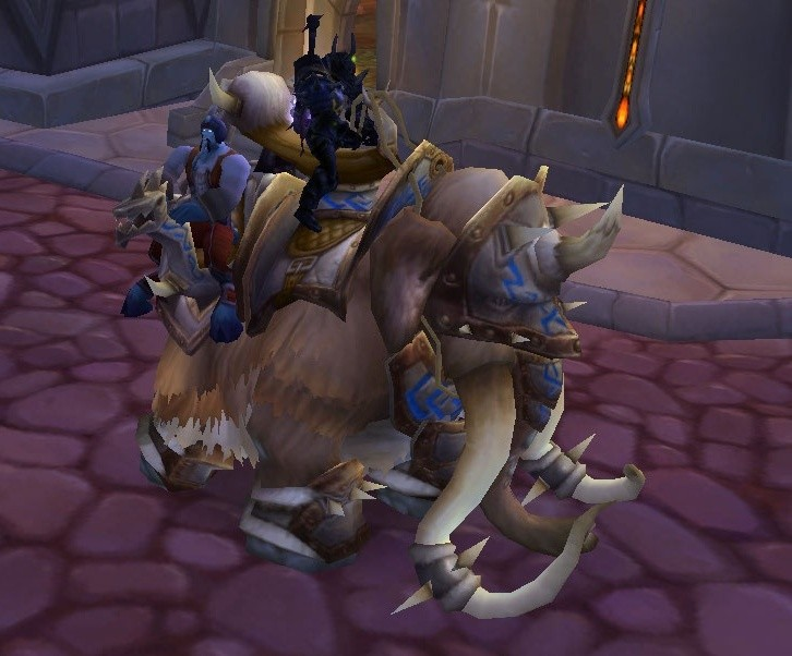 Wow Reins Of The Traveler S Tundra Mammoth