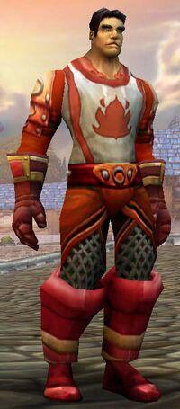 Human ScarletArmor