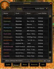 Guild Memebrs