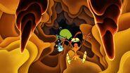 S1e17a Wander and Sylvia slide into the volcano 3